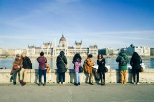 budapest-tourists